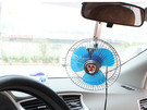 【8吋24V未封閉風扇】汽車用可夾式電風扇 車載夾子可旋轉式風扇