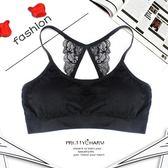 設計花邊裹胸抹胸 蝴蝶美背運動 裹胸背心《小師妹》yf227