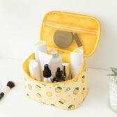 化妝包網紅化妝包女便攜韓國簡約大容量化妝袋箱少女心洗漱品收納盒交換禮物