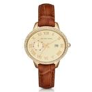 『Marc Jacobs旗艦店』美國代購 MK2428 Michael Kors新款時尚皮帶橢圓鑲鉆錶圈手錶|MK|100%全新正品|