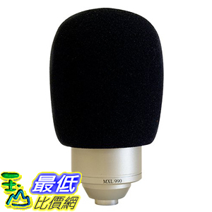 [美國直購] MXL WS-002 麥克風罩 Foam Windscreen 770/990 適用 fit any microphone with a grill