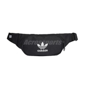 adidas 腰包 Essential Crossbody Bag 黑 白 男女款 側背包 三葉草 【ACS】 DV2400