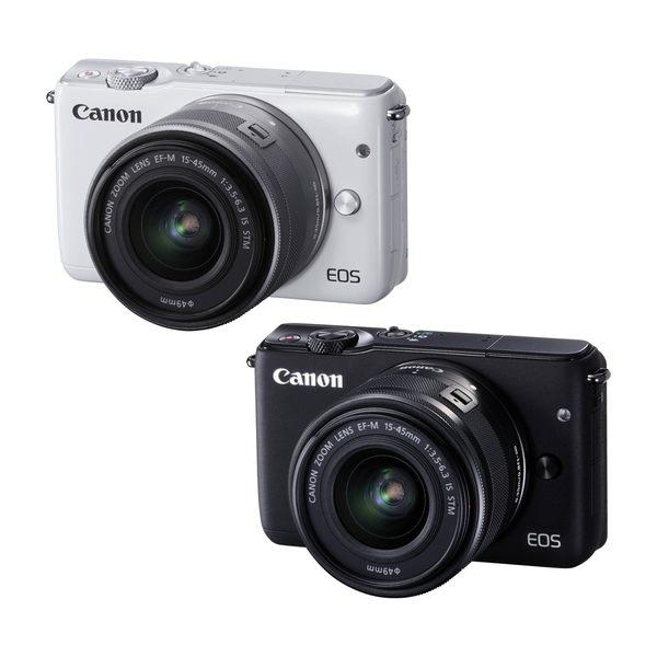 【聖影數位】Canon EOS M10 [15-45mm 單鏡組] 公司貨 微單眼相機 無反