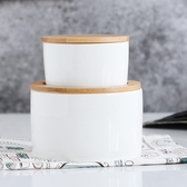 雙層小零食盒子帶蓋子防塵 陶瓷創意糖果盒子干果罐小收納盒子【全館免運】
