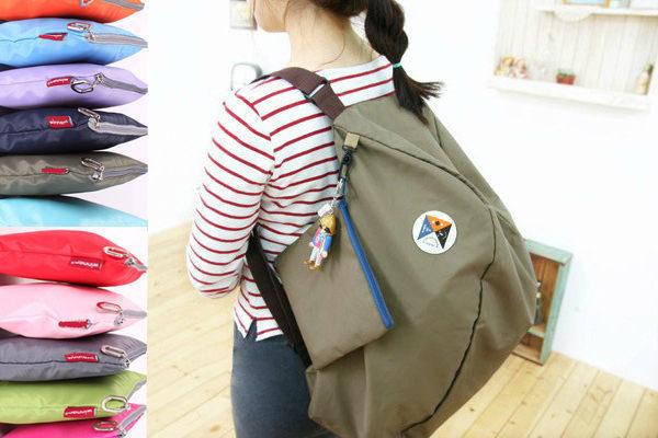 多功能旅行袋 旅行包 收納包 購物袋 單肩包雙肩包 後背包 旅遊旅行收納 【SV1469】BO雜貨