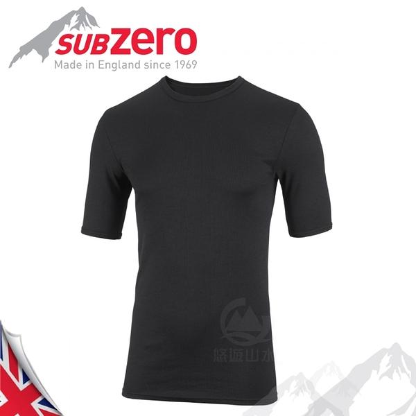【Sub Zero 英國 Factor1 短袖排汗衣《黑》】Factor 1 Base/內層衣/運動衣/防曬