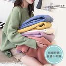 孕婦裝 MIMI別走【P51786】法式馬卡龍 細膩柔感長版針織衣 保暖百搭