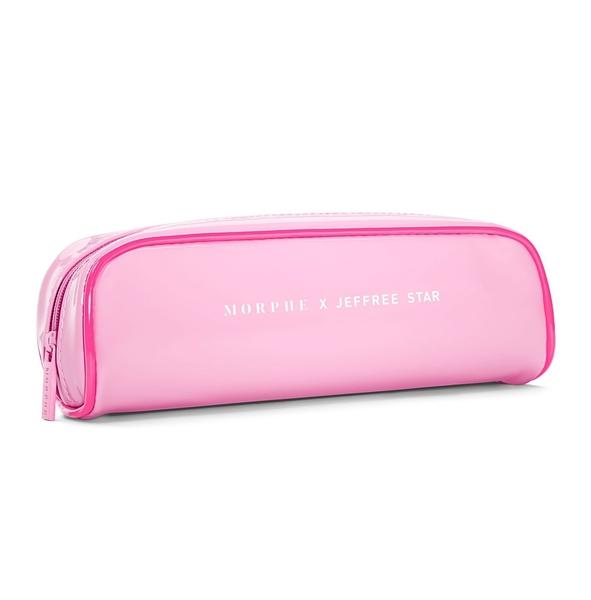 美國Morphe THE JEFFREE STAR EYE BRUSH COLLECTION10支粉紅刷具組+刷包 眼部刷具組