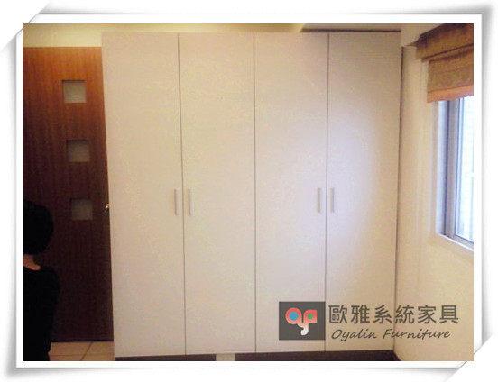 【歐雅系統家具】系統家具 系統收納櫃 半開放更衣室設計