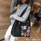 韓版旅游大容量輕便運動健身單肩包短途手提袋行李包網紅旅行包女 元旦狂歡購