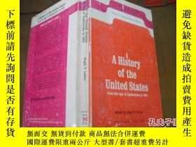 二手書博民逛書店A罕見History of the United States