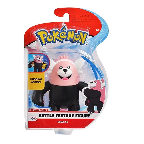 [9美國直購] Pokemon精靈寶可夢 戰鬥特徵可動人偶 4.5 Inch Battle Feature Action Figure