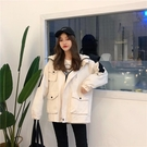 春秋新款韓版工裝棒球服夾克bf原宿風寬松學生港風嘻哈外套女 完美計畫