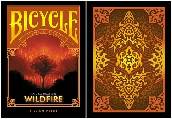 【USPCC 撲克】BICYCLE ND wildfire PLAYING CARDS natural disaster