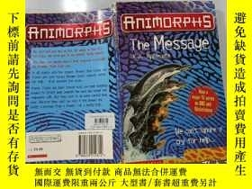 二手書博民逛書店Animopphs:罕見The Message Animopphs:信息Y200392