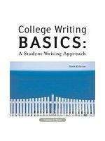 二手書博民逛書店 《College Writing Basics: A Student Writing Approach》 R2Y ISBN:0155085182│Tyner
