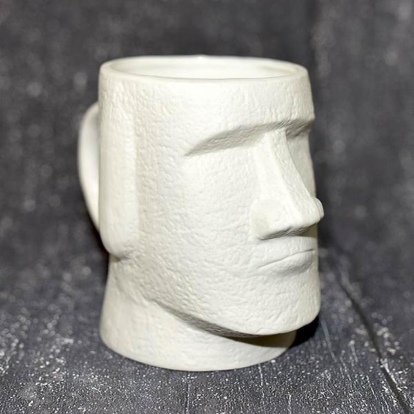 日本製 摩艾石像 磁器 馬克杯 Moai 500ml