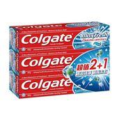 高露潔冰涼水晶薄荷牙膏 160gx3