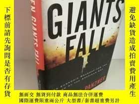 二手書博民逛書店簽名本罕見When Giants Fall: An Econom