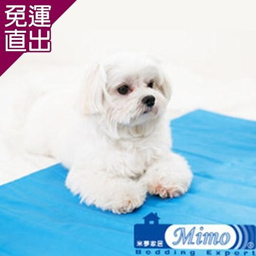 米夢家居 嚴選長效型降6度冰砂冰涼墊 (60*90CM)10公斤以上大寵物用2入【免運直出】