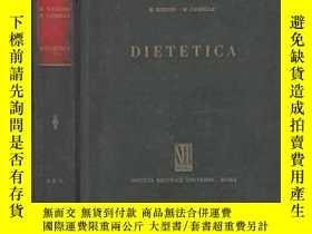 二手書博民逛書店罕見DIETETICA-飲食Y346464 M. MESSINI, M. CA... Published by