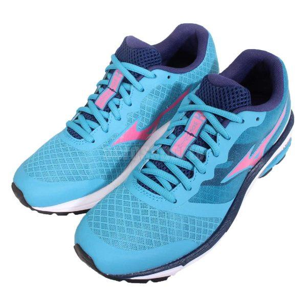 【五折特賣】美津濃 Mizuno Wave Unitus DC W 路跑 慢跑 藍 粉紅 運動鞋 女鞋【PUMP306】 J1GF1521-59