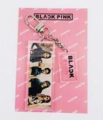 BLACKPINK 彩色寫真壓克力鎖圈 鑰匙圈 鑰匙扣 E862-B【玩之內】韓國JENNIE LISA 智秀