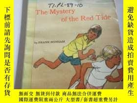 二手書博民逛書店the罕見mystery of the red tide(英文,