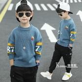 童裝男童毛衣套頭兒童新款春秋冬款男孩針織衫潮韓版洋氣加厚 Korea時尚記