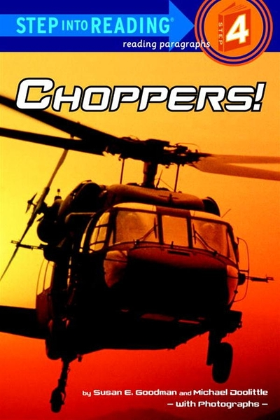 (二手書)Step into Reading Step 4: Choppers!