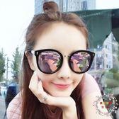 新品gm墨鏡女潮偏光太陽鏡圓臉眼鏡長臉沙灘
