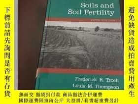 二手書博民逛書店Soils罕見and soil fertility (fifth