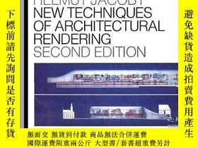二手書博民逛書店New罕見Techniques of Architectural Rendering-建築渲染新技術Y4434