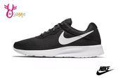 NIKE TANJUN 慢跑鞋 女款 輕量 透氣 休閒運動鞋 O7233#黑白◆OSOME奧森童鞋