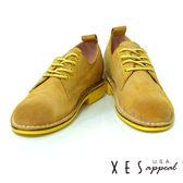 XES 休閒鞋 女鞋  特殊刷皮 全真皮  個性時尚鞋款  優質棕