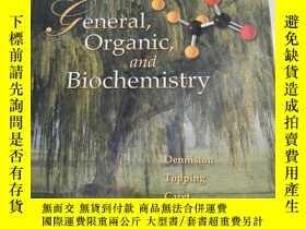 二手書博民逛書店General,罕見Organic, and Biochemistry[一般有機和生物化學]精裝 庫存Y631