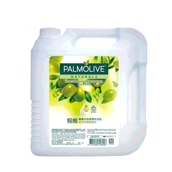 [COSCO代購] W214224 Palmolive 棕欖沐浴乳4公升 - 橄欖牛奶