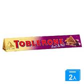 瑞士三角巧克力葡萄堅果 100G【兩入組】【愛買】