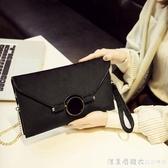 絲絨包包女2020新款鎖扣單肩斜挎小包韓版個性時尚百搭氣質手拿包