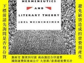 二手書博民逛書店Philosophical罕見Hermeneutics And Literary TheoryY256260