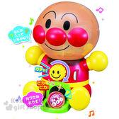 〔小禮堂〕麵包超人 扭蛋機玩具《坐姿.舉手.橘盒裝》適合3歲以上 4971404-31347