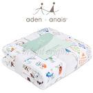 美國Aden+Anais 純棉四層厚毯 動物ABC款6052