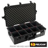 美國 PELICAN 1605 Air TP 超輕氣密箱-含TrekPak 隔板-(黑) 公司貨