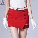 高爾夫裙 高爾夫衣服女夏季短裙高爾夫裙褲修身防走光女裙golf裙子正韓球裙-Ballet朵朵