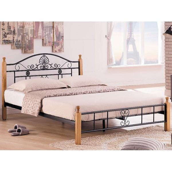 床架 床台 鐵床 TV-183-1 麗莎本色5尺床台 (不含床墊) 【大眾家居舘】