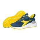 《Diadora》兒童 運動鞋 藍黃色 ...
