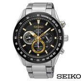SEIKO 精工 SSC581P1 (V175-0EE0K) 太陽能 三眼計時 男錶/43mm