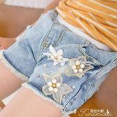 女童牛仔短褲 夏季新款韓版女孩運動褲熱褲兒童牛仔褲薄款夏裝褲子  新年下殺