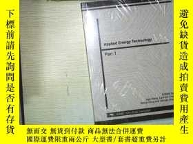 二手書博民逛書店APPLIED罕見ENERGY TECHNOLOGY PART