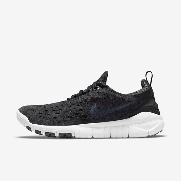 Nike Free Run Trail [CW5814-001] 男鞋 運動 襪套 輕量 舒適 避震 赤足 黑 白